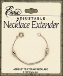 Adjustable Necklace Extender-Silver