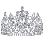 JEST JEWELS Large Crystal Tiara