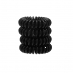KITSCH 4 Pack Black Hair Coils