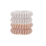 KITSCH 4 Pack Nude Hair Coils