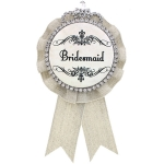 JEST JEWELS Bridesmaid Award Bling Pin