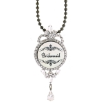 JEST JEWELS Bridesmaid Bling Necklace