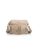 MZ WALLACE Roxy Crossbody Flax Bedford Bag