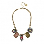 BETSEY JOHNSON Surreal Forest Charmy Stone Necklace