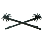JEST JEWELS Black Spider Bobby Pins