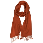 JEST JEWELS Rust Pashmina