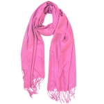 JEST JEWELS Medium Pink Pashmina