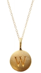 JEST JEWELS 14K Gold Vermeil Initial Necklace
